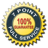 7 Point Full Service Guarantee